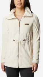 Women's Fire Side Long Full Zip Sherpa Fleece Jacket