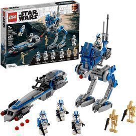 LEGO Star Wars 501st Legion Clone Troopers 75280 Building Kit