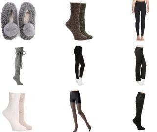 60% off cozy socks, leggings & shapewear
