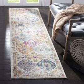Safavieh Madison Collection Bohemian Chic Vintage Distressed Runner, (2'3x 8')