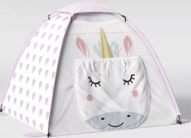 Pillowfort Unicorn Play Tent White