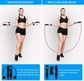 Jumping Rope Counter for Indoor and Outdoor Fitness