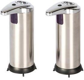Sensor 8-oz. Automatic Soap Dispenser 2-Pack