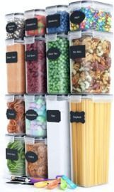 Chef's Path Airtight Food Storage Container Set - 14 Pieces
