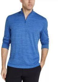 Club Room Quarter-Zip Tech Sweatshirt
