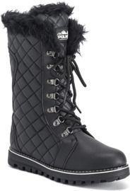 Polar Products Quilted Comfy Winter Knee High Boots