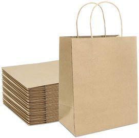 Kraft Paper Gift Bags Bulk with Handles