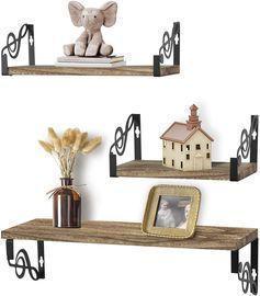 Floating Shelves- Set of 3