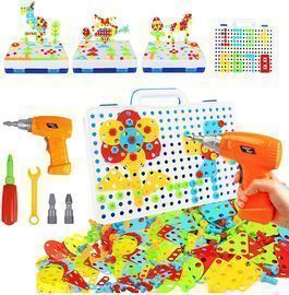237 Pieces Electric DIY Drill Educational Set