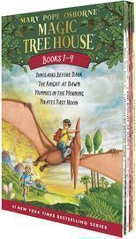 Magic Tree House Boxed Set, Books 1-4