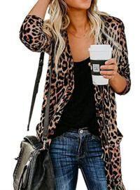 Leopard Printed Cardigans