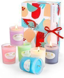 Scented Candles Gift Set -Pack of 6