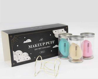 3 Pcs Makeup Sponge Set with Blending Holder