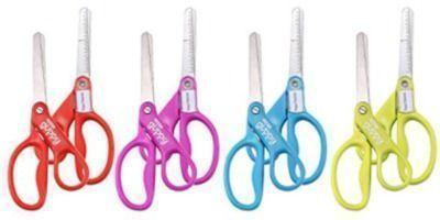 Stanley 5-inch Pointed Tip Minnow Kids Scissors - 8pk