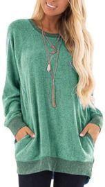 Women's Lightweight Knit Sweatshirt