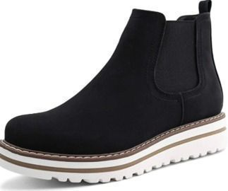 Womens Chelsea Elastic Ankle Boots