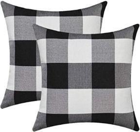Buffalo Plaid 18x18 Pillow Covers - 2pk