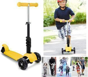 3-in-1 Kick Scooter with Removable Seat