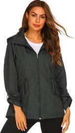 Women waterproof rain jackets