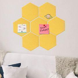 7 Pack Hexagon Felt Board