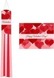 Valentine's Day Windsock