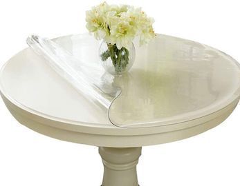 Round Clear PVC Tablecloths