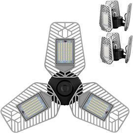 2-Pack of LZHome 9,000-Lumen LED Garage Lights