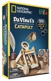 National Geographic Da Vinci's Inventions Catapult STEM Toy