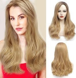 24 Inches Ombre Blonde Wigs