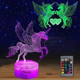Unicorns Dimmable LED Night Lights
