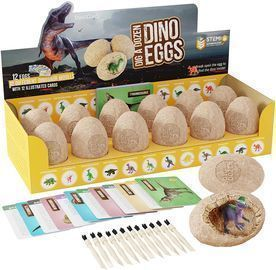 Dig a Dozen Dino Eggs Dig Kit STEM Gift for Boys & Girls