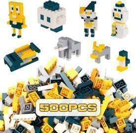 Building Bricks 500 Pieces Set