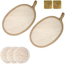 Natural Loofah Body Scrubbers