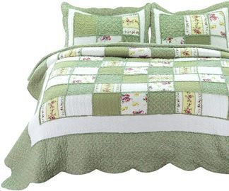 Coverlet Design Printed Quilt Set