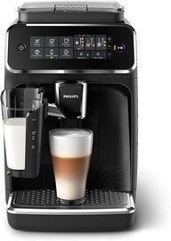 Philips 3200 Series Fully Automatic Espresso Machine w/ LatteGo, Black