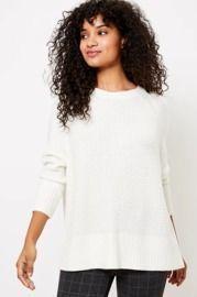 Stitched Dolman Sweater
