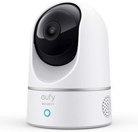 eufy Security 2K Indoor Cam Wi-Fi Pan & Tilt Plug-in Security Indoor Camera