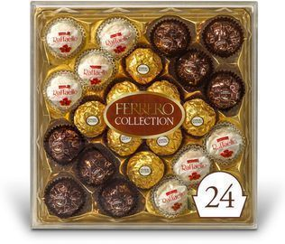 Ferrero Rocher Collection Assorted Coconut Candy and Chocolates 24-Ct.