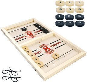 Large Fast Sling Puck Game