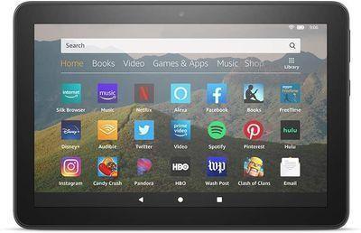 8 Amazon Fire HD 8 32GB Tablet (10th-Gen.)