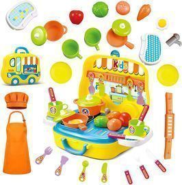 25pcs Kids Kitchen Playsets