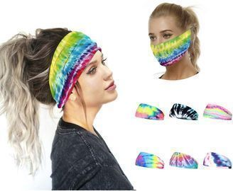 8PCS Vintage Turban Sports Headbands