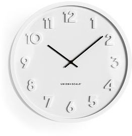 13 Union & Scale Essentials Wall Clock