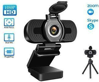 TROPRO 1080P USB Webcam w/ Microphone