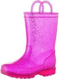 Kid's Glitter Rainboots