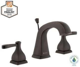 Glacier Bay Milner 8 Widespread 2-Handle High-Arc Bathroom Faucet