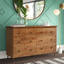 Lafever 6 Drawer Double Dresser