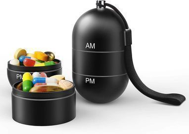 AM PM Pill Organizer