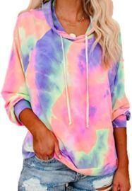 Tie-Dye Pullover Sweatershirts