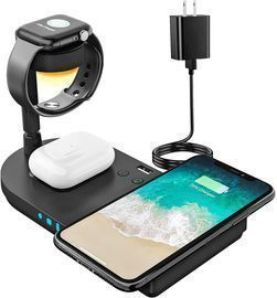 Wireless Charging Station, 4 in 1